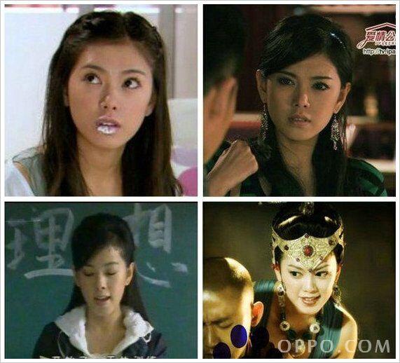 2001 少林武王扮演小妮 .2009 活佛济公扮演如萍