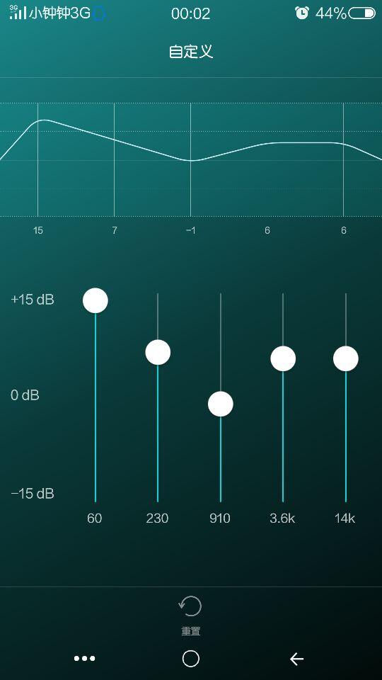 强大杜比音效,五段均衡器音乐播放器!