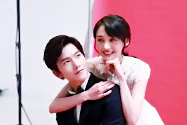 杨洋和郑爽婚纱照美极了,这样的爱情你想要吗?