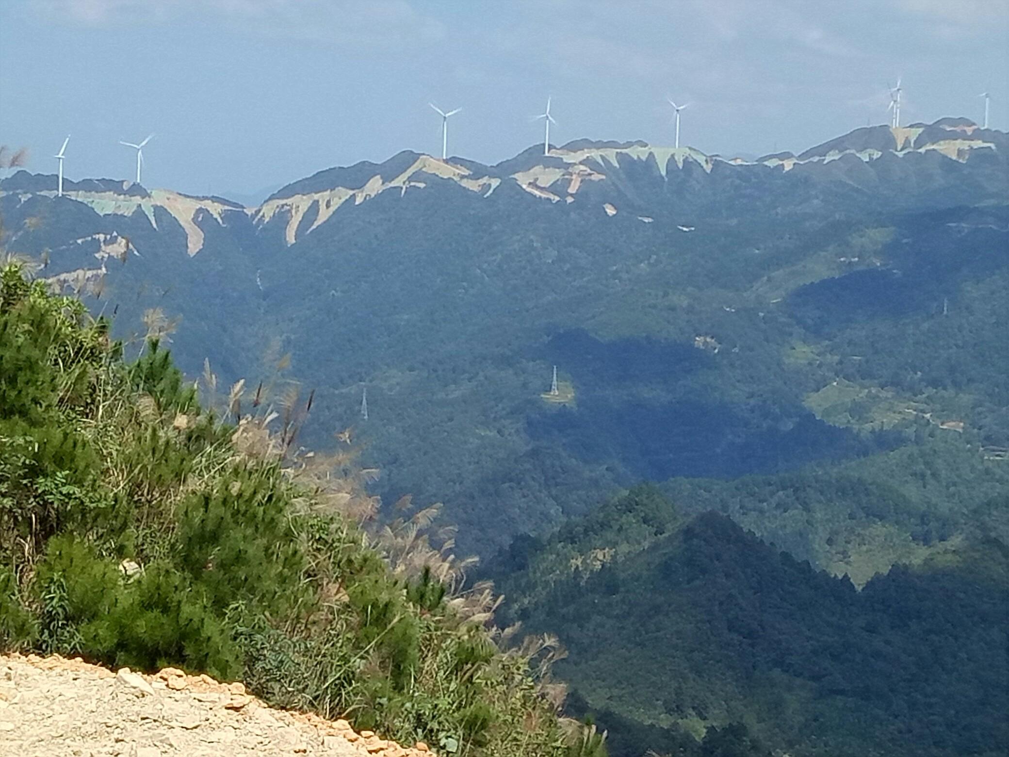 贵州省黔南州三都县风电风景区