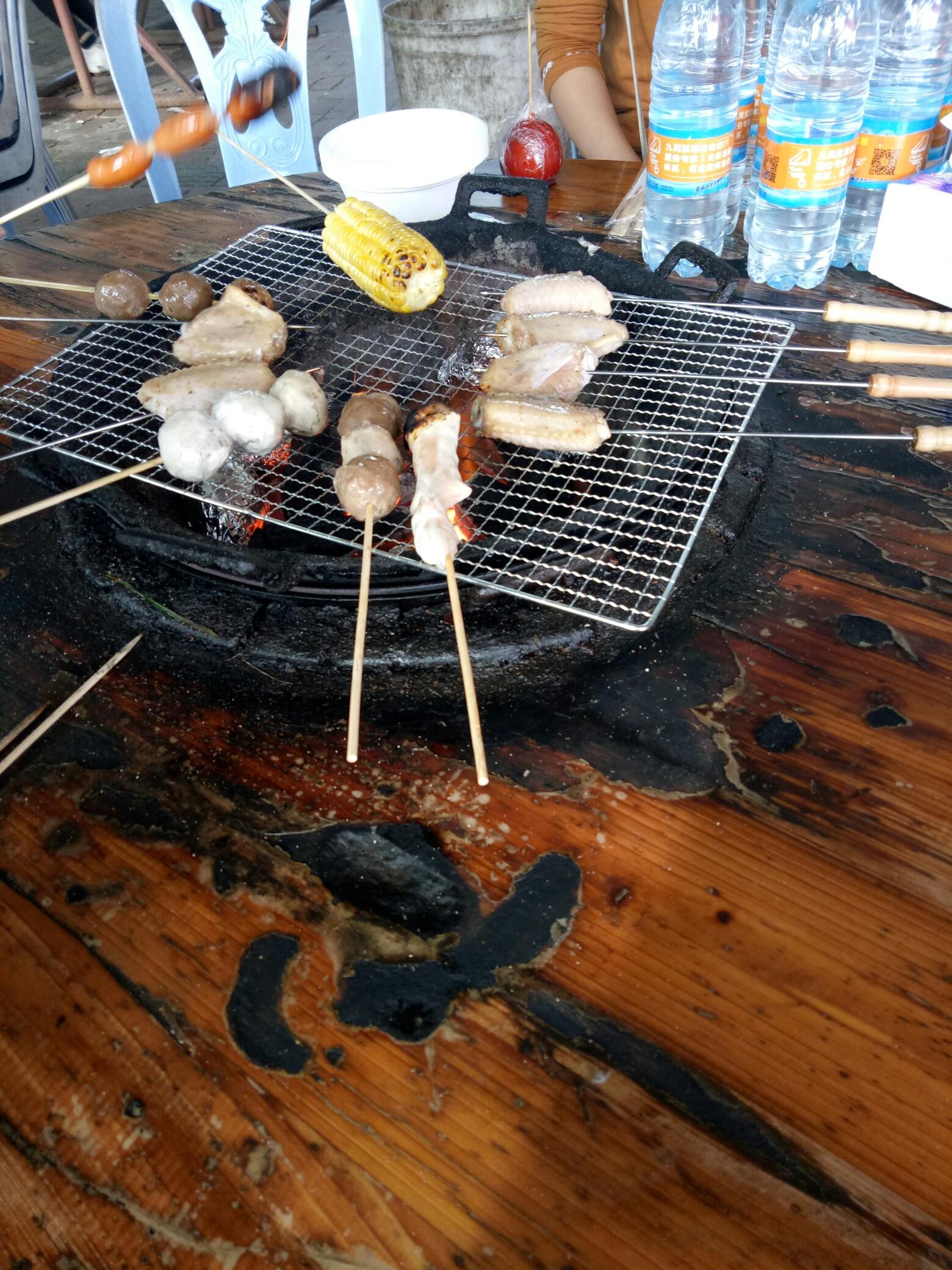 火炉山森林公园烧烤