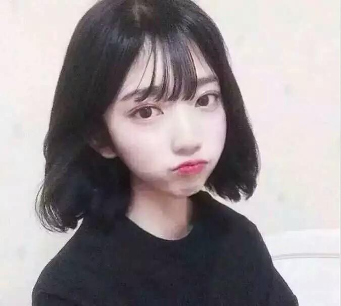 短发空气刘海,最适合萌妹子的漂亮发型~_帖子_oppo