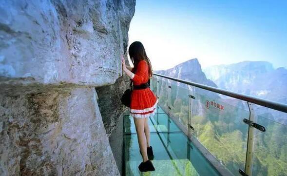 张家界玻璃栈桥!