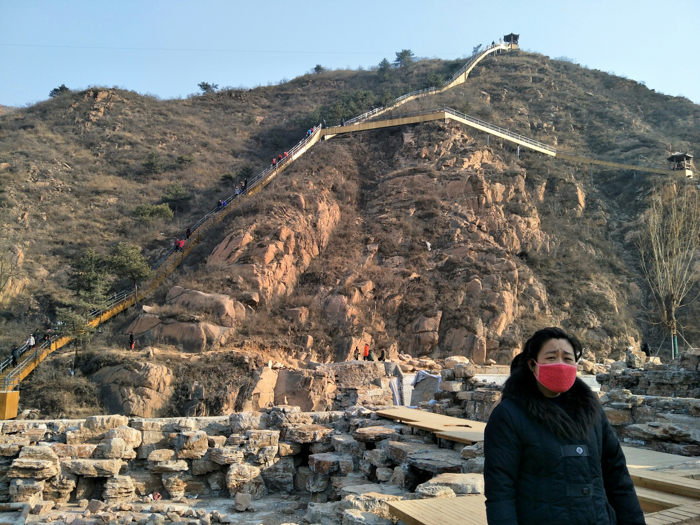 河北平山红崖谷