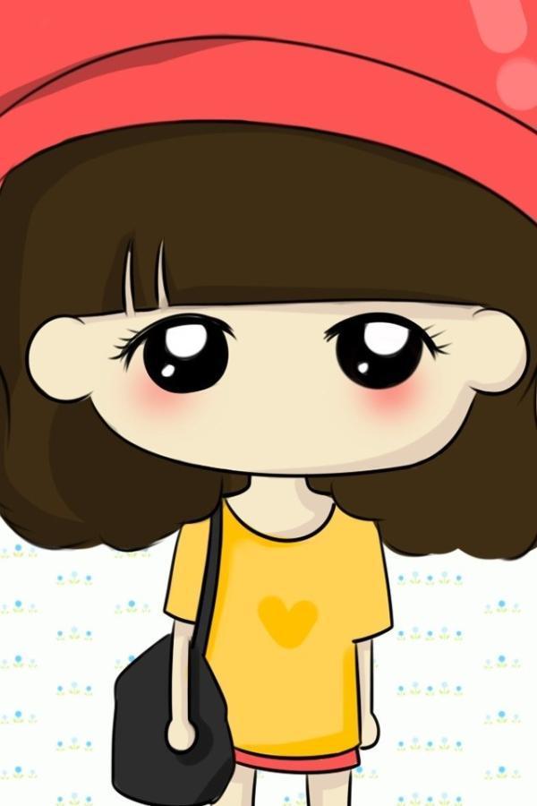 卡通图片 可爱女生