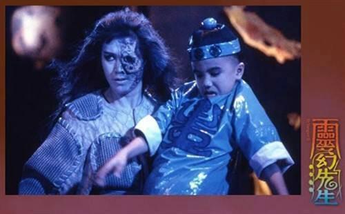 为什么林正英演僵尸至尊电影时,要把他两个徒弟生啊八字写在符纸上图片