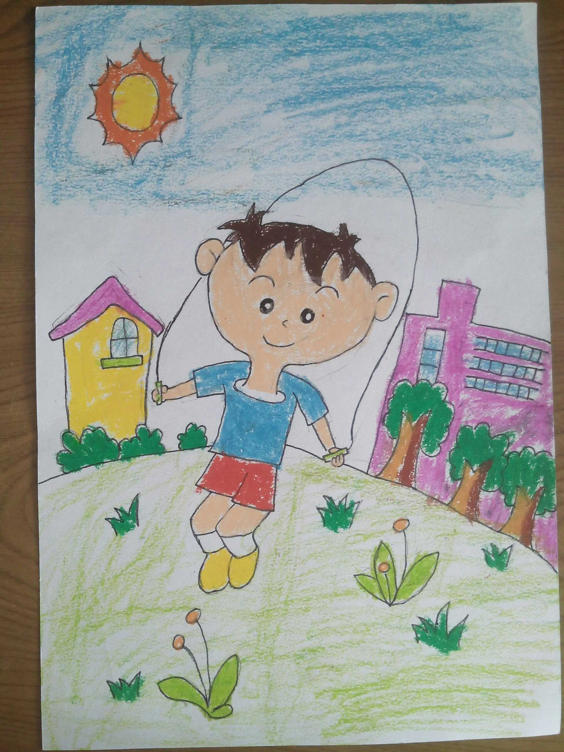 儿子的画画真棒!_帖子_oppo手机官方社区