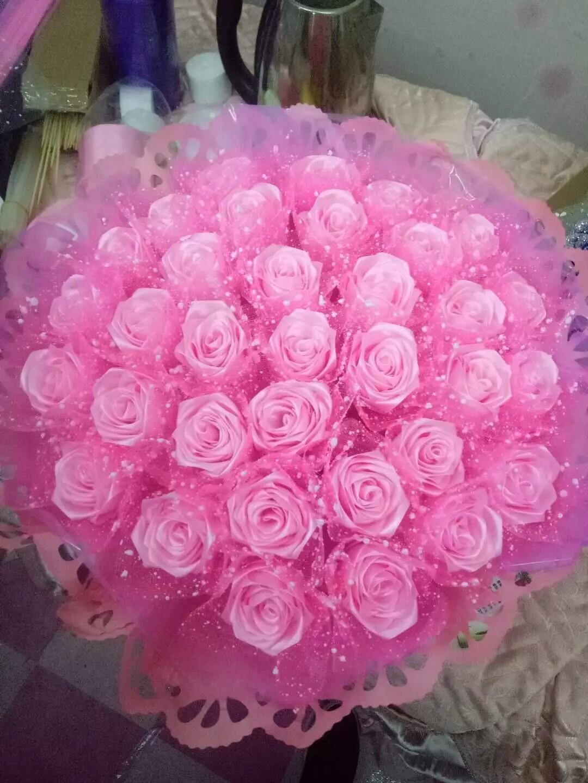 纯手工制作的玫瑰花.分享大家.