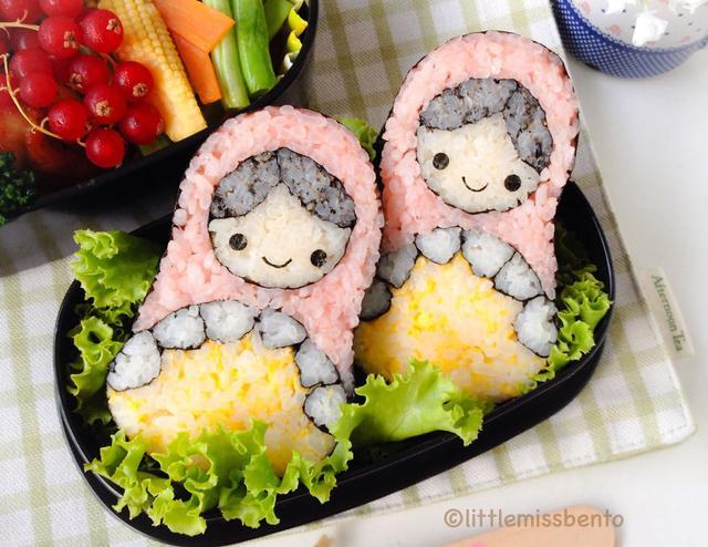 创意可爱的寿司!