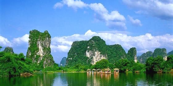 桂林山水甲天下,阳朔山水甲桂林是什么意思图片