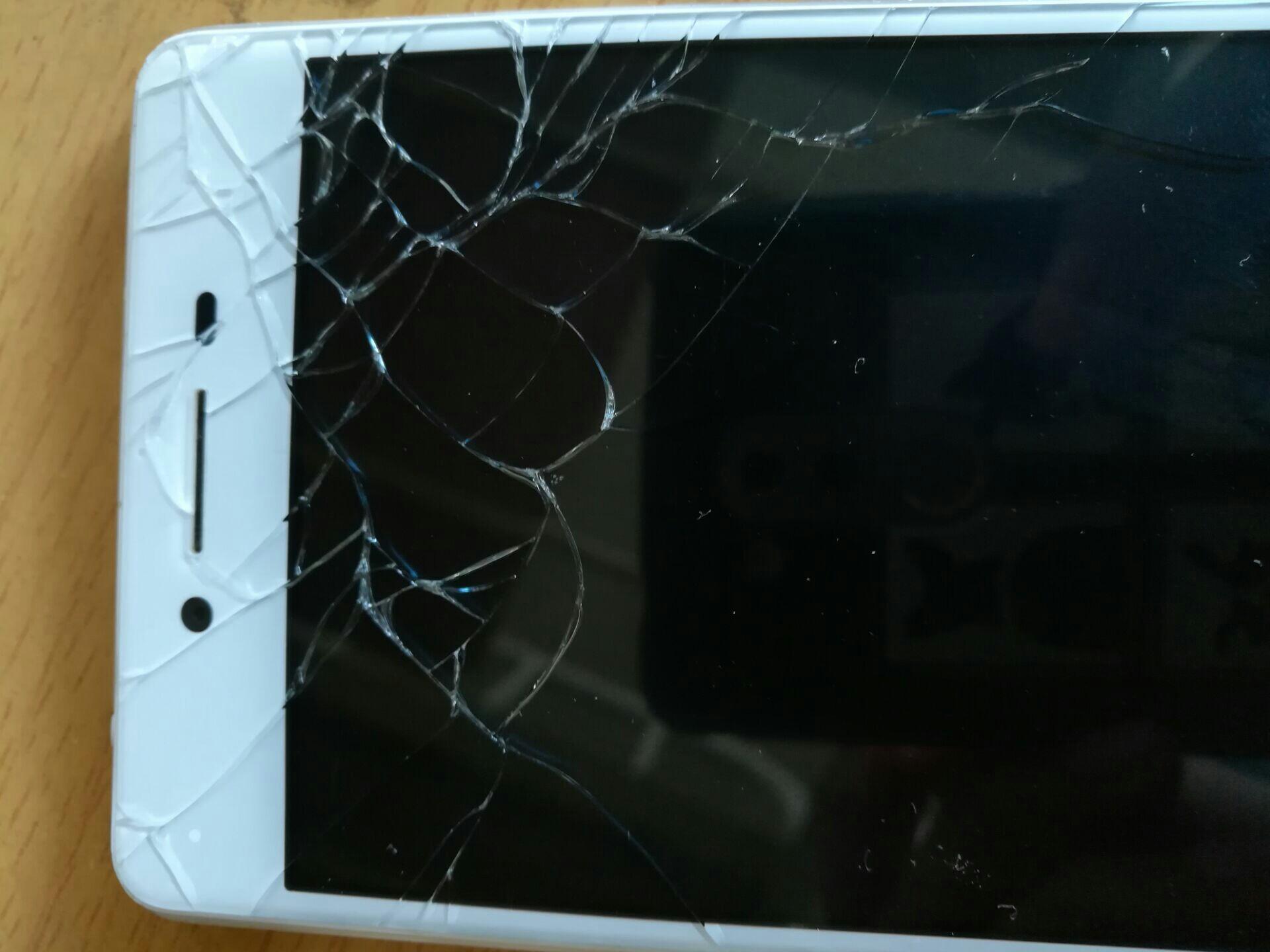 oppor7屏幕碎了换屏多少钱