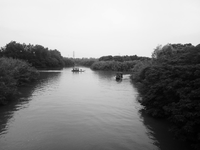 孤独的黑白家风景