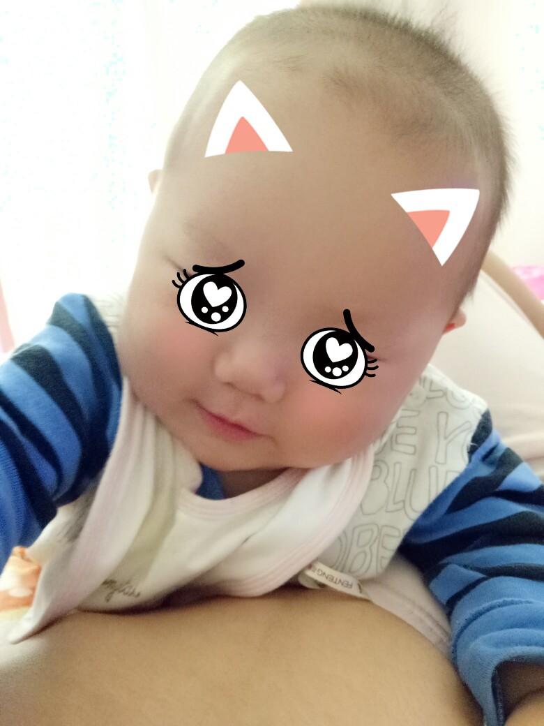 最萌表情包#妈妈的小可爱