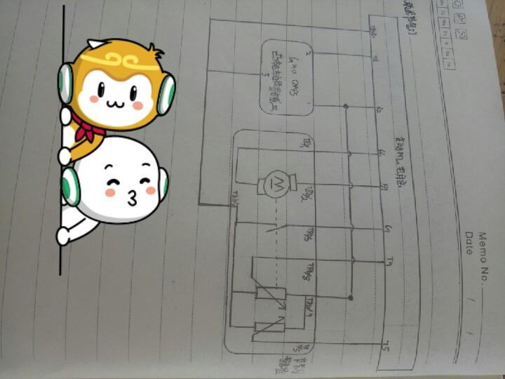 自己画的节气门电路图