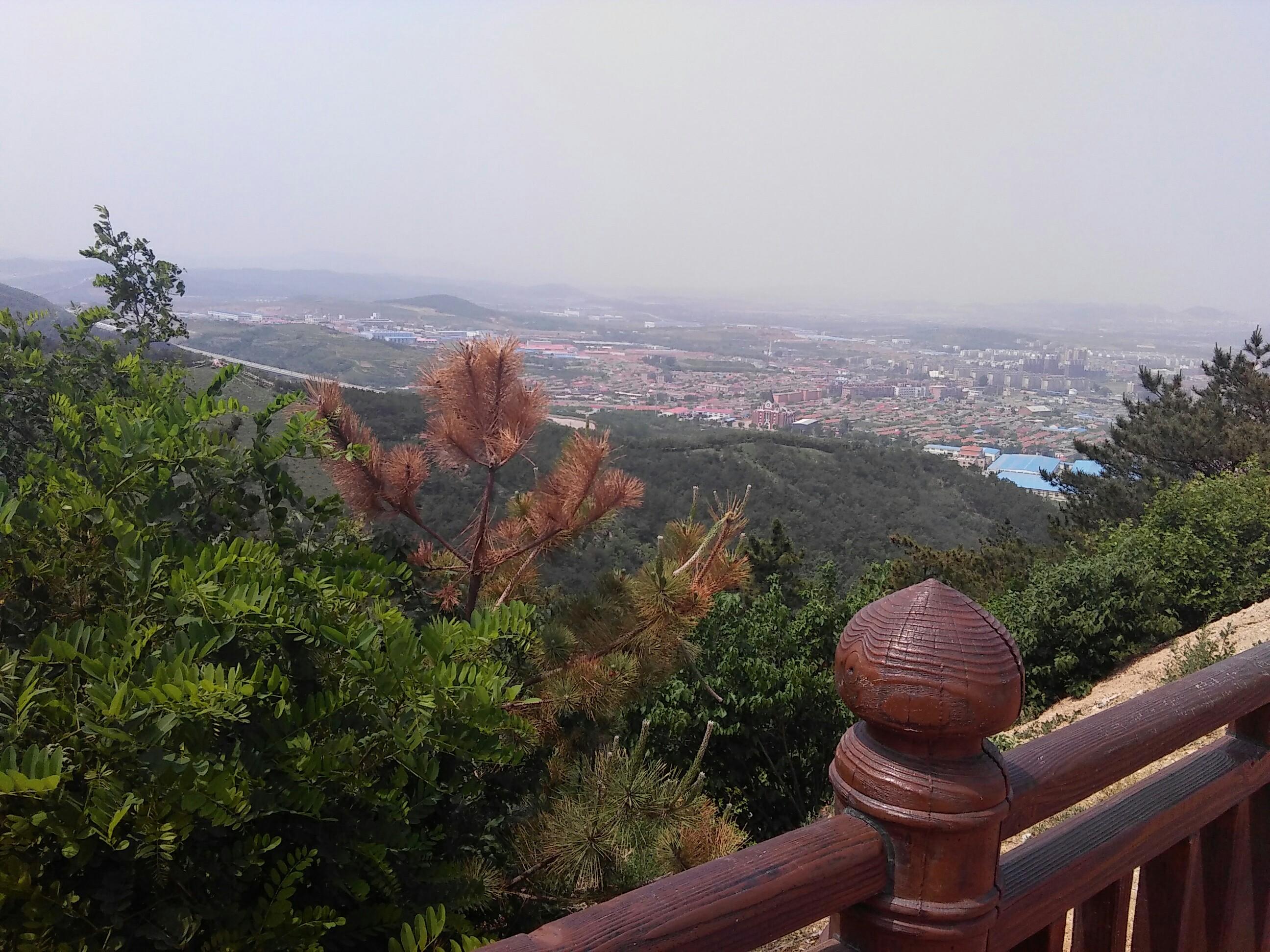 梭山牛栏江风景