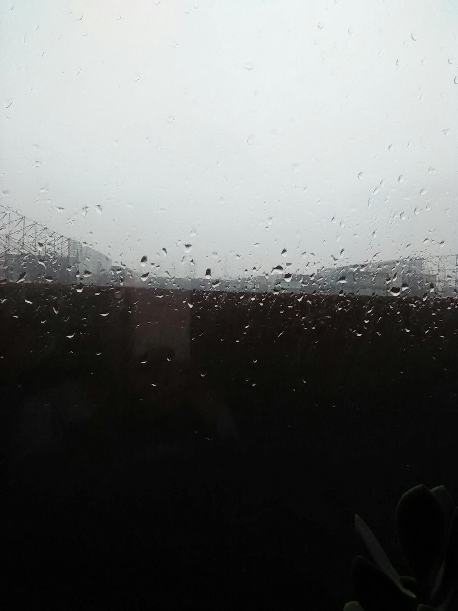 山中下雨动画素材gif