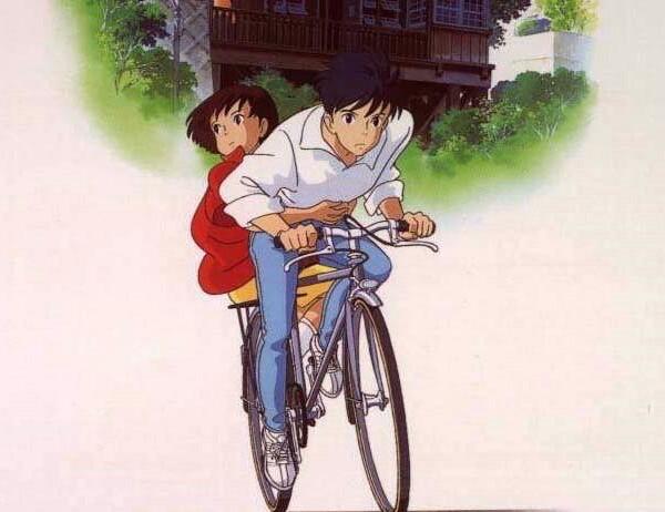 k▽:续单车情侣(卡通版)