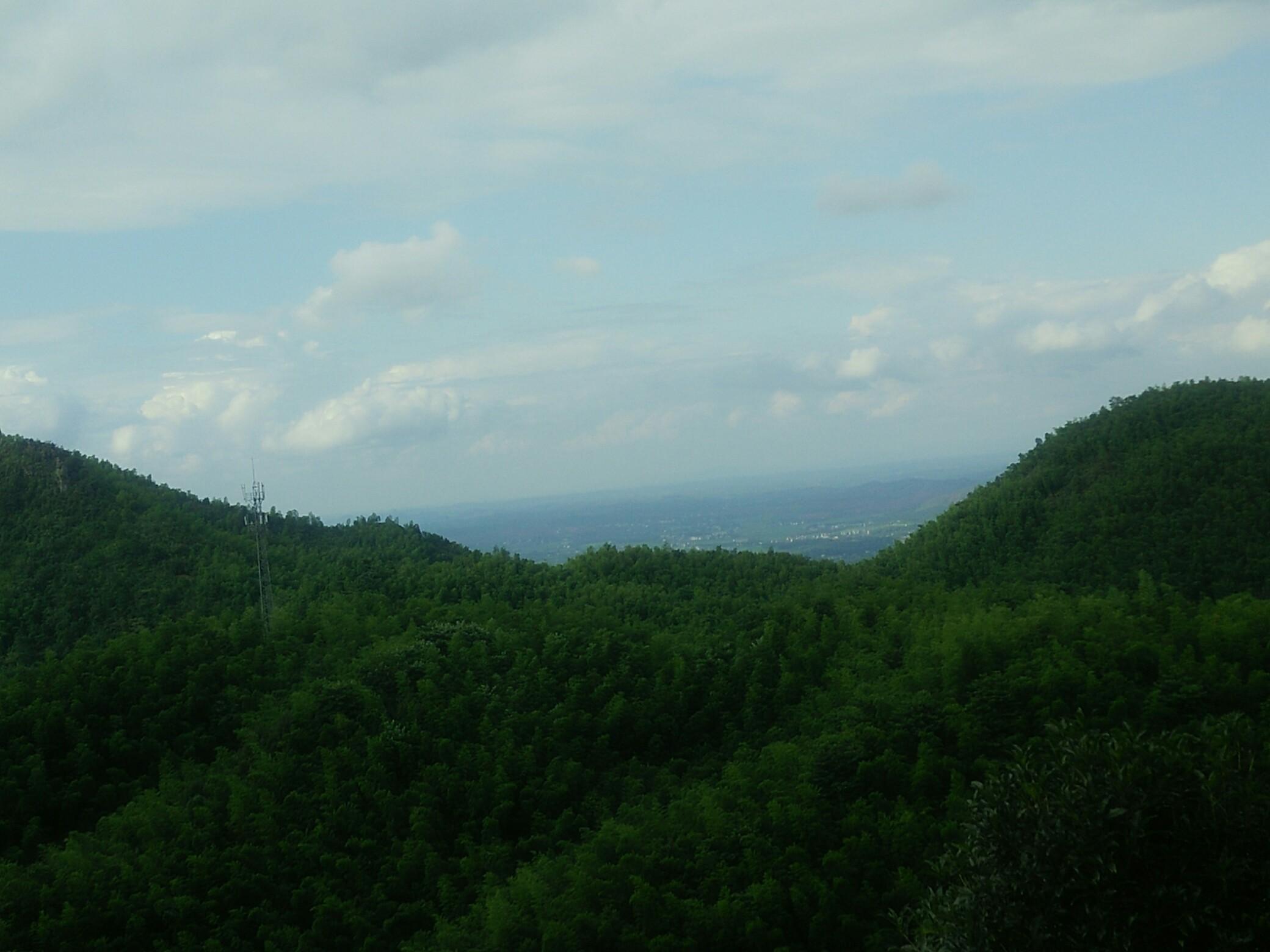 湖南常宁市大义山风景,大自然的风光.