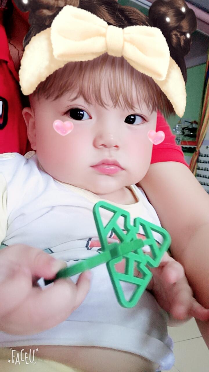 多可爱的小娃娃
