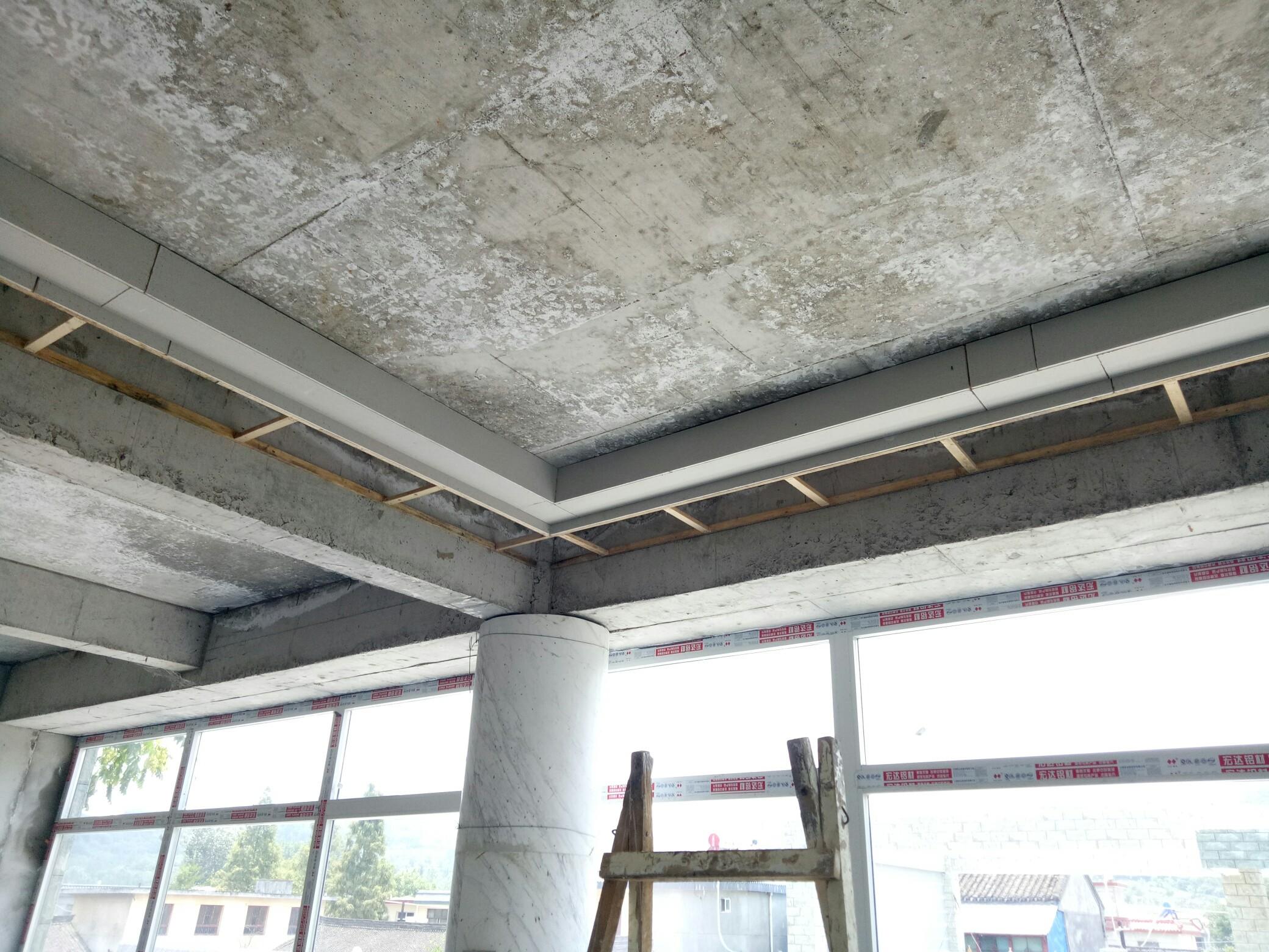 家装室内客厅二级造型吊顶