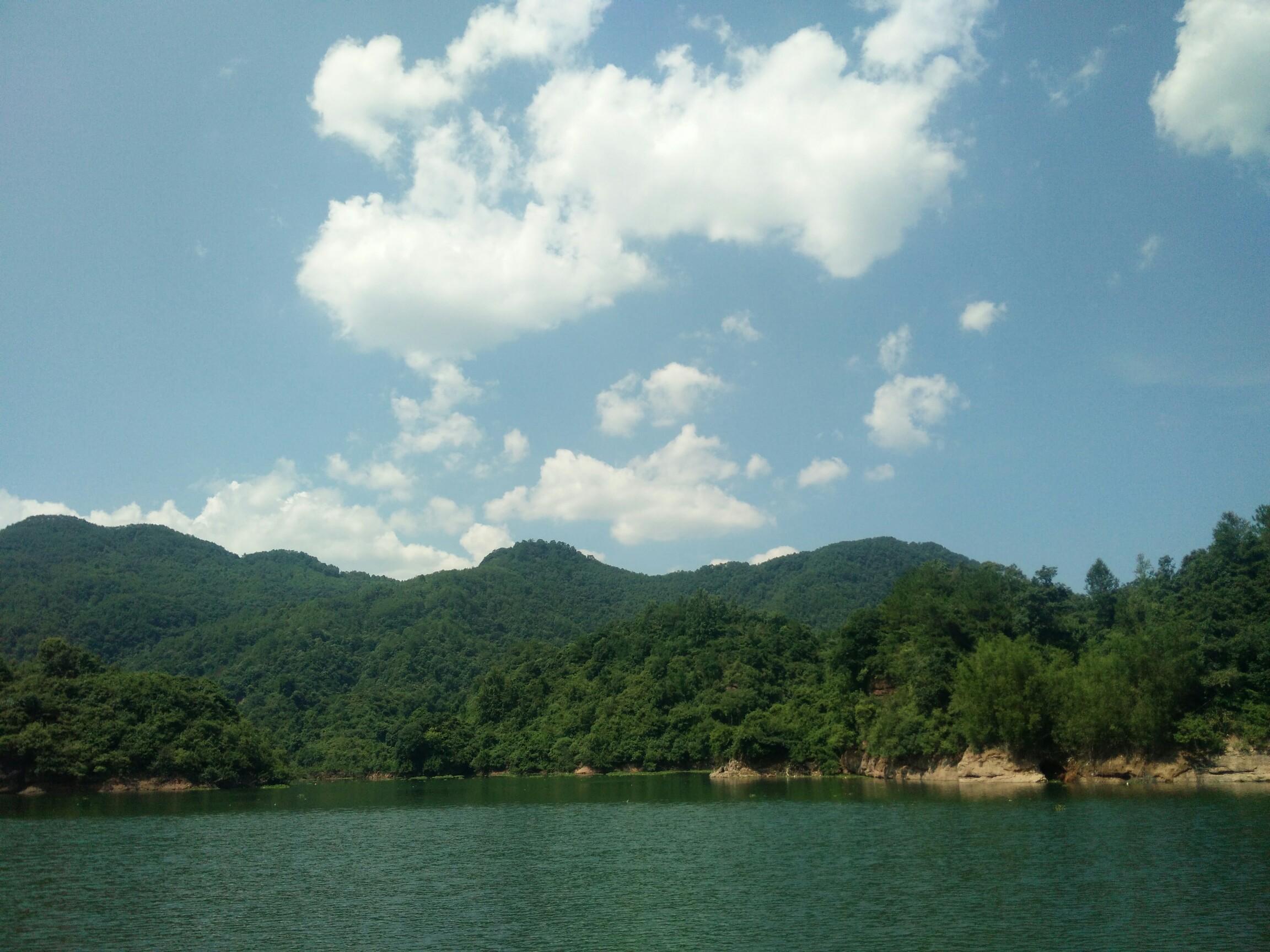 龙川县贝岭镇枫树坝库区