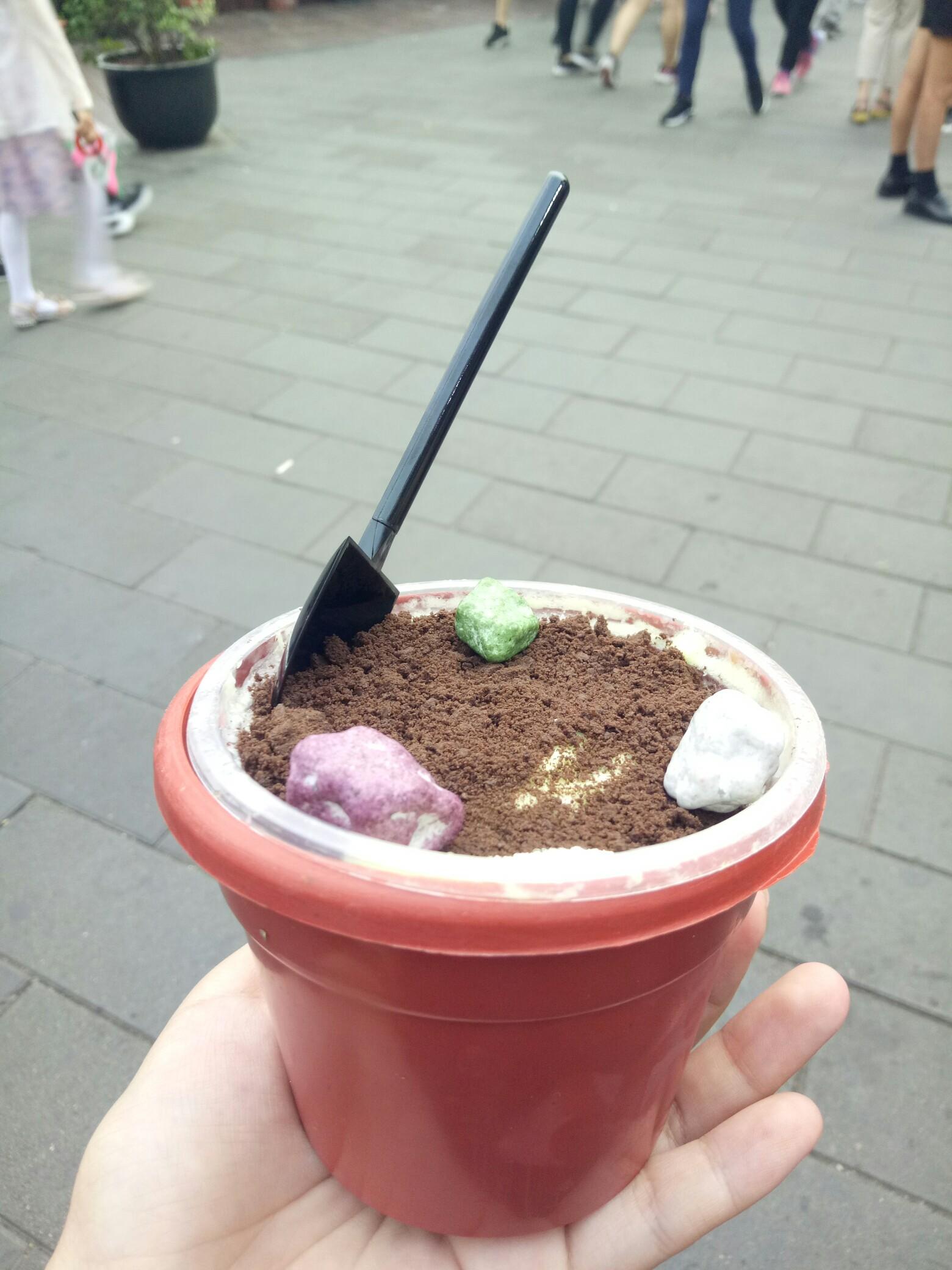 花盆冰淇淋
