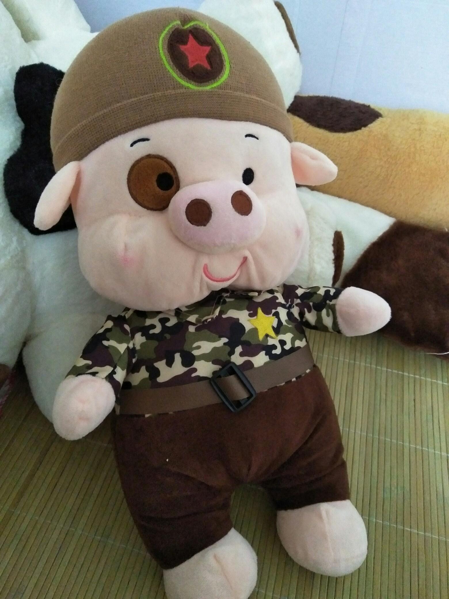 超可爱的小猪猪