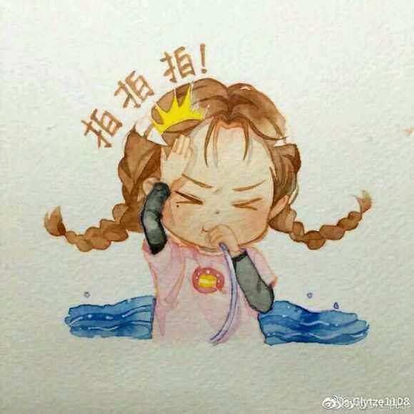 dear 迪丽热巴##手绘