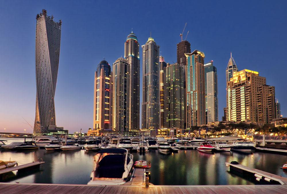 迪拜风景.