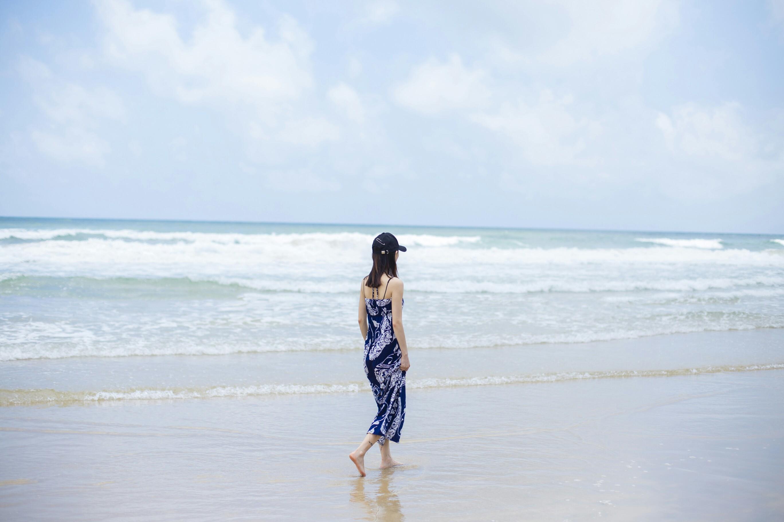 蓝天 白云 大海