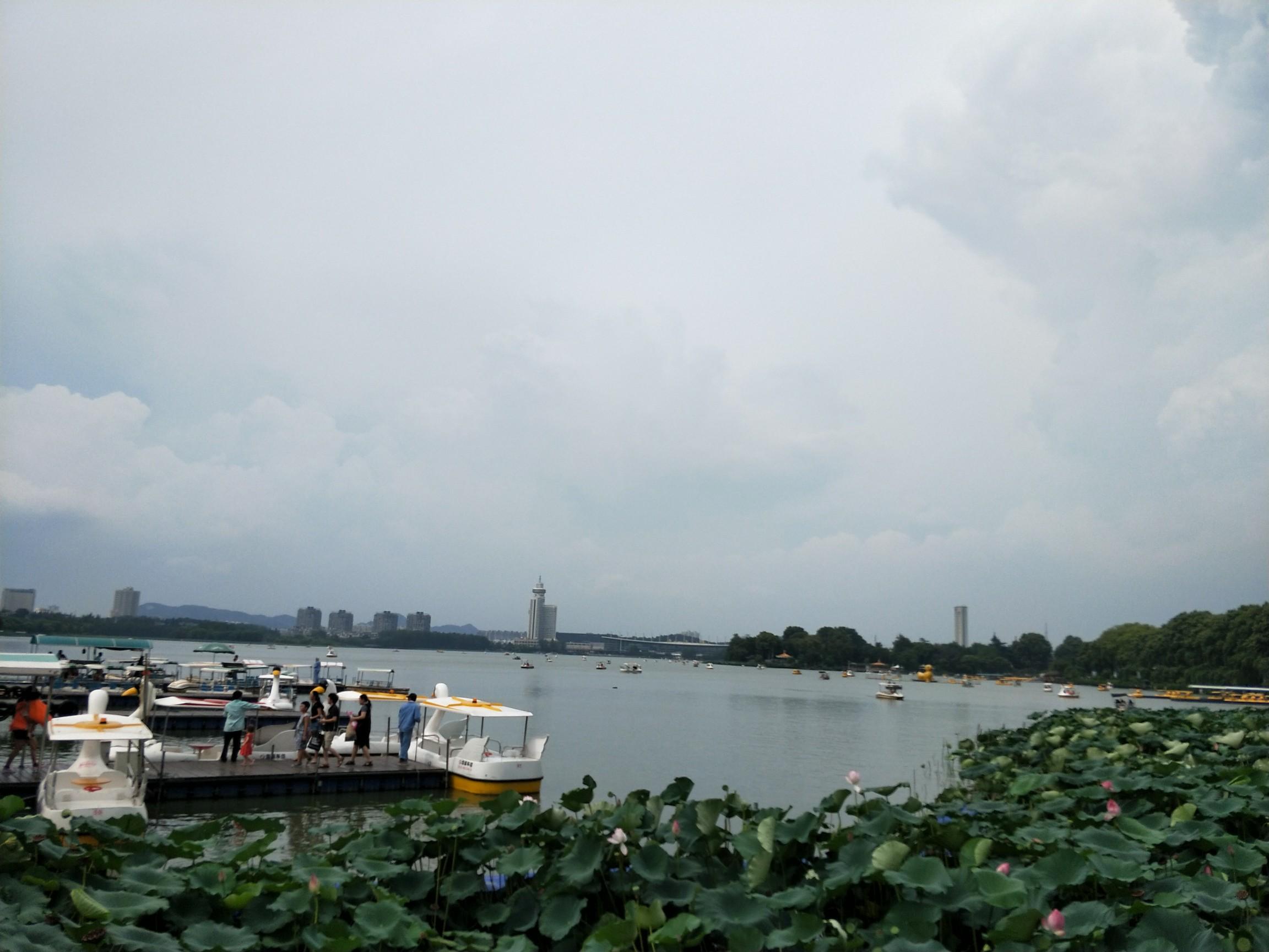 玄武门&玄武湖