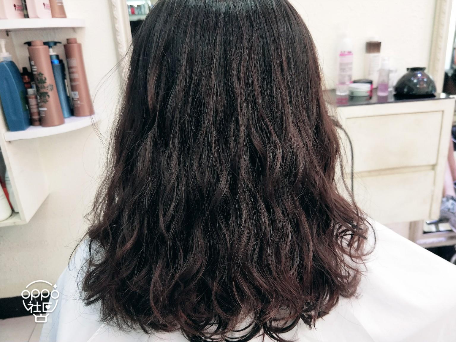 水波纹泡面卷发型图片展示图片