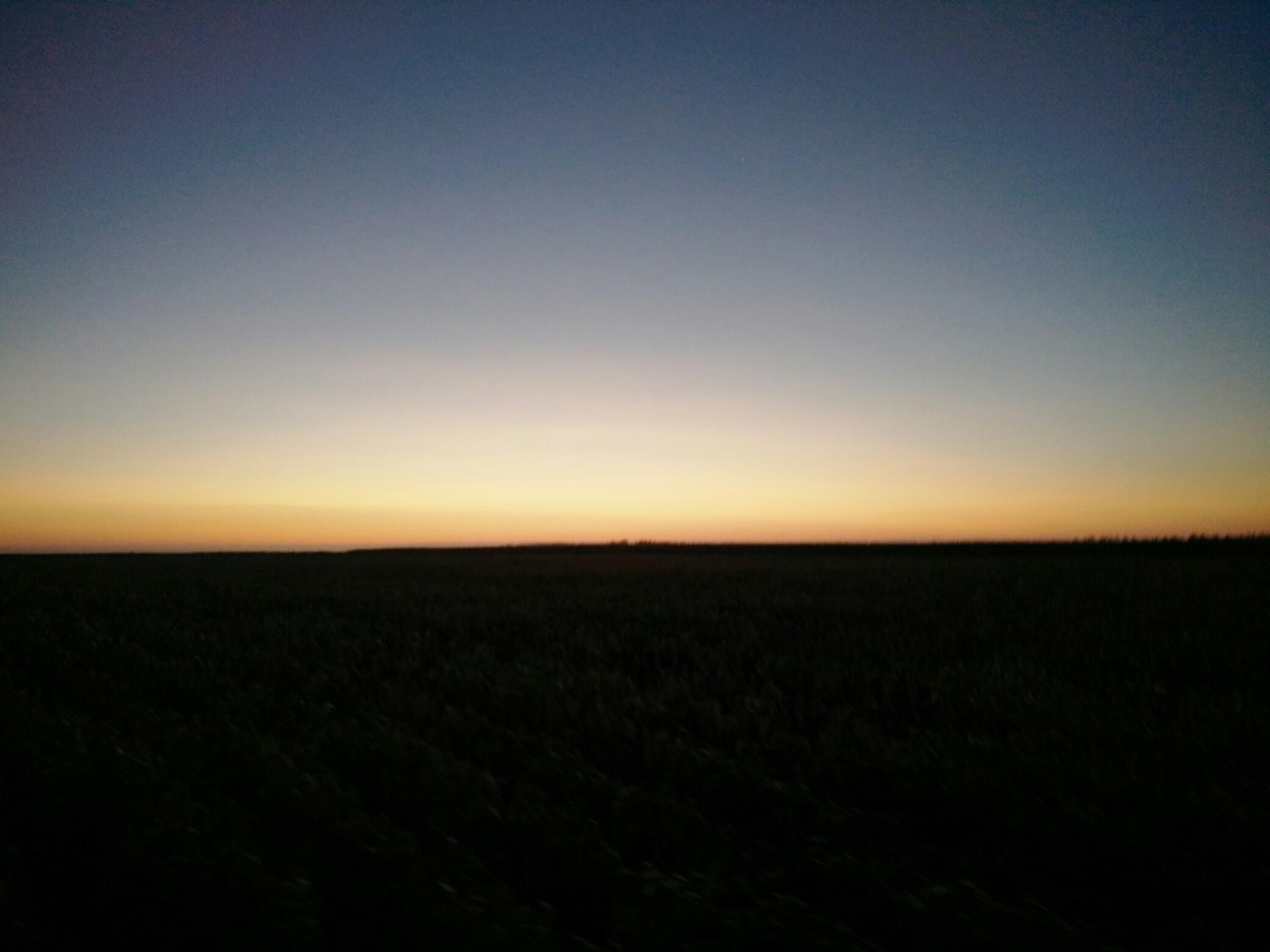 太阳刚刚升起,友友们,早安!