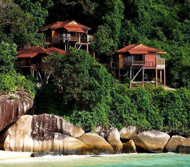 泰国普吉岛的树屋酒店.