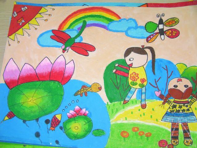 相处幼儿园简笔画