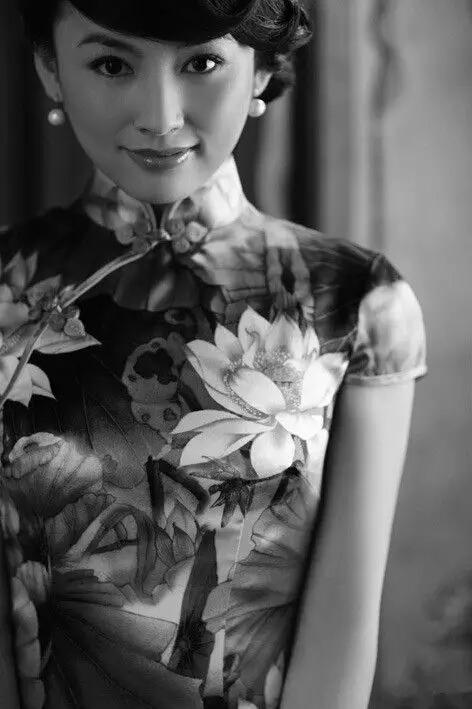 旗袍:让东方女子的美与雅韵风情摇曳.之二!