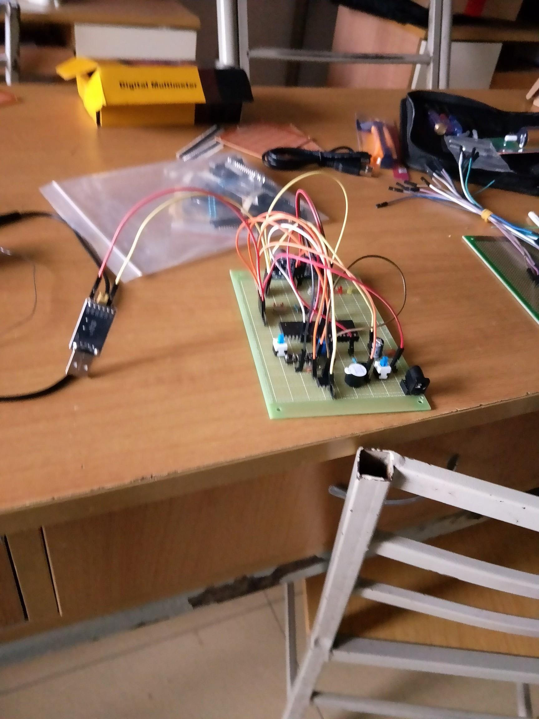 第一次焊电路板