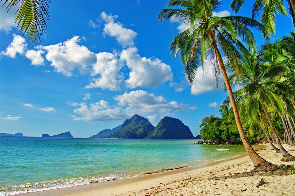 优美风景海边