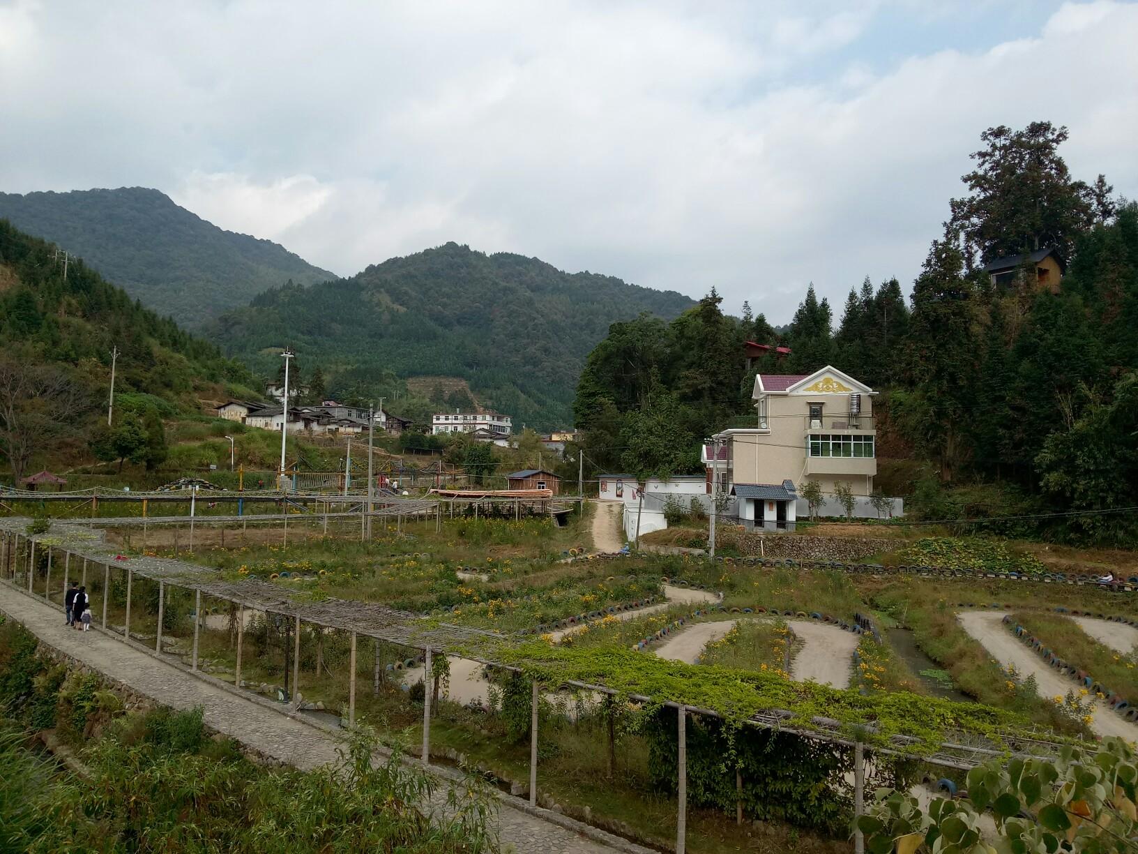 西和县苏合乡庞沟村风景